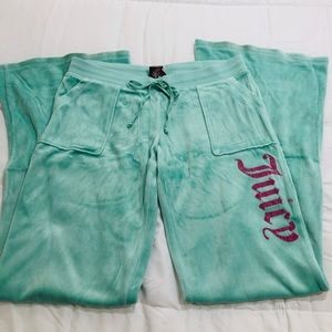 Juicy Couture velour tracksuit pants size M
